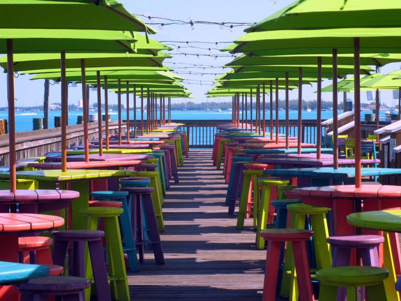 Dog Friendly Key West Restaurants - Sunset Pier