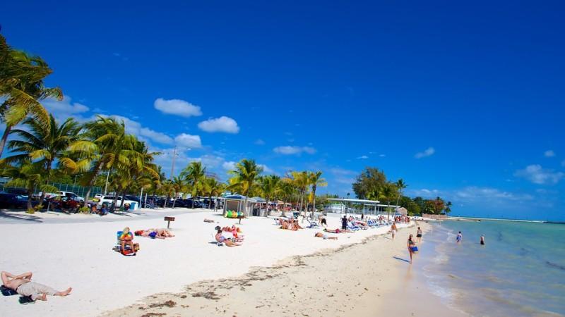 key west beaches, higgs beach